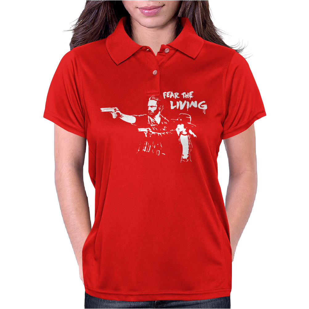 Fear the Living Womens Polo