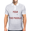 Fear The Paddle Mens Polo