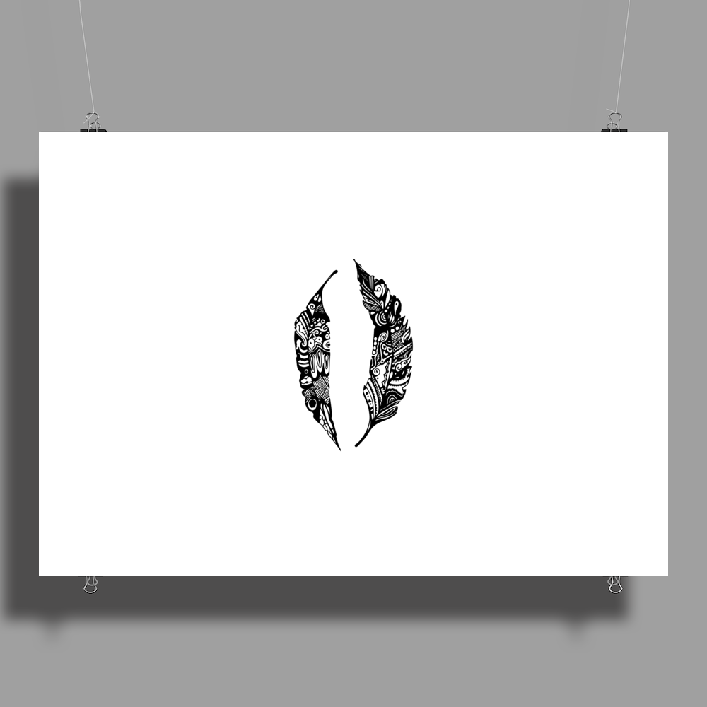 Feather Poster Print (Landscape)