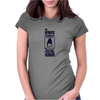 Feed me human Womens Fitted T-Shirt