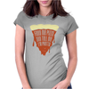 Feed Me Pizza Tell Me I'm Pretty Womens Fitted T-Shirt
