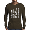 Fell Off My Barstool Mens Long Sleeve T-Shirt