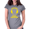 Female Protection Womens Fitted T-Shirt