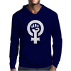 Feminist Human Rights Justice Activist Mens Hoodie