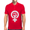 Feminist Human Rights Justice Activist Mens Polo