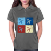Fencing Pop Art Womens Polo