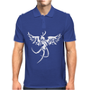 Fenice Phoenix Tribale tattoo Mens Polo