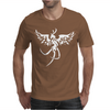 Fenice Phoenix Tribale tattoo Mens T-Shirt