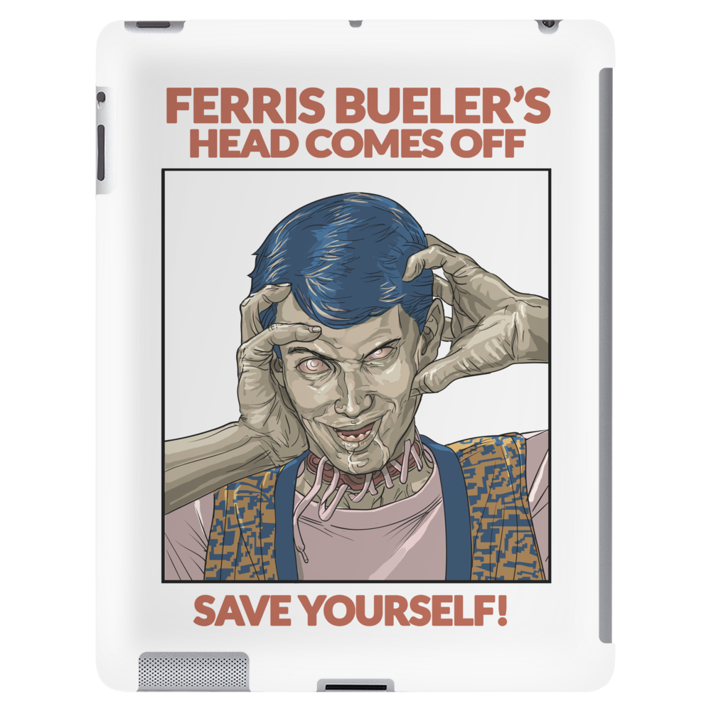 Ferris Bueler's Head Comes Off from Zombie Love Collection Tablet