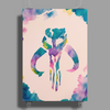 Fett Watercolor Poster Print (Portrait)