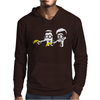 Fiction Parody Mens Hoodie