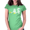 Fiction Parody Womens Fitted T-Shirt