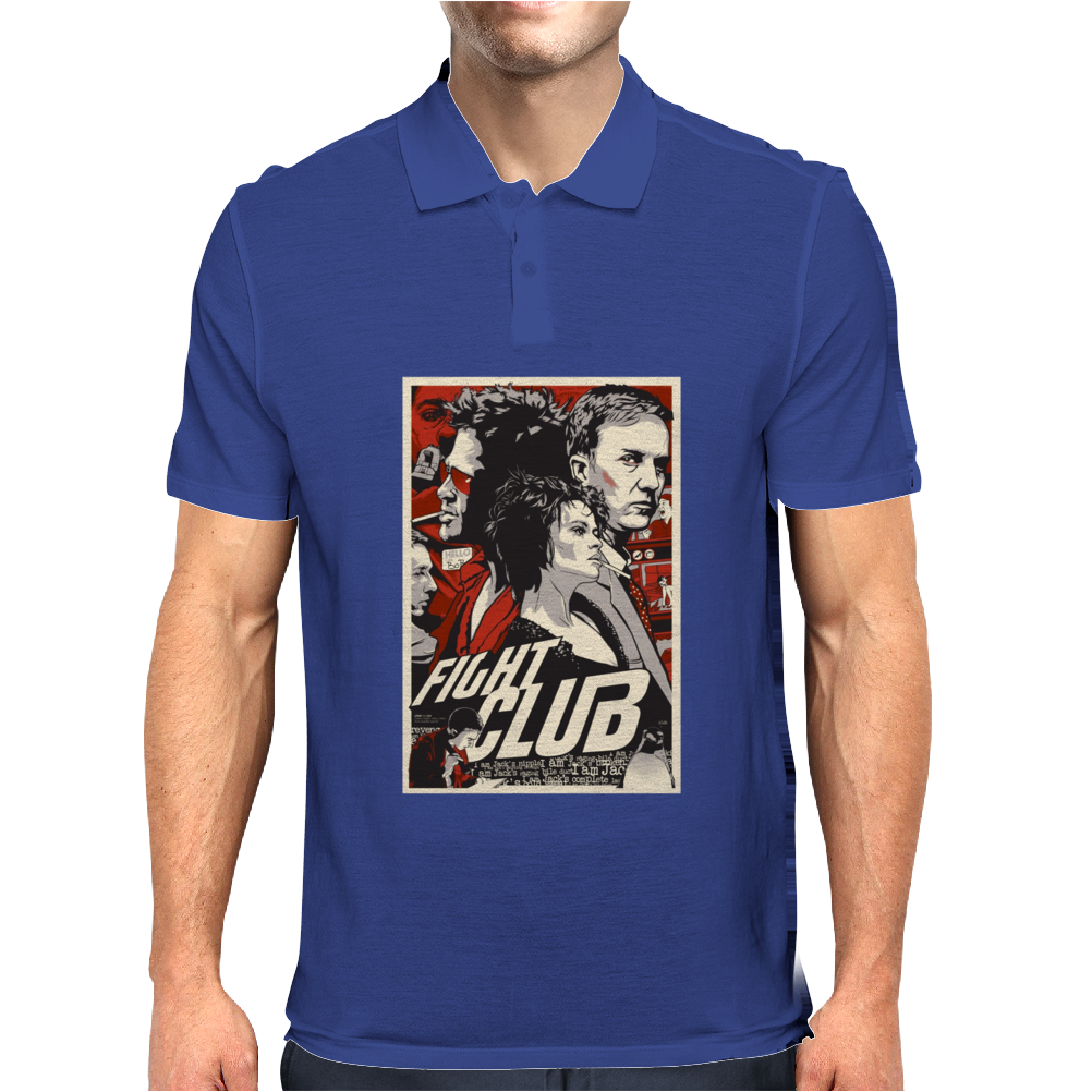 Fight Club Mens Polo