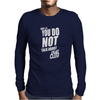 Fight Club Movie Rule 1 Mens Long Sleeve T-Shirt