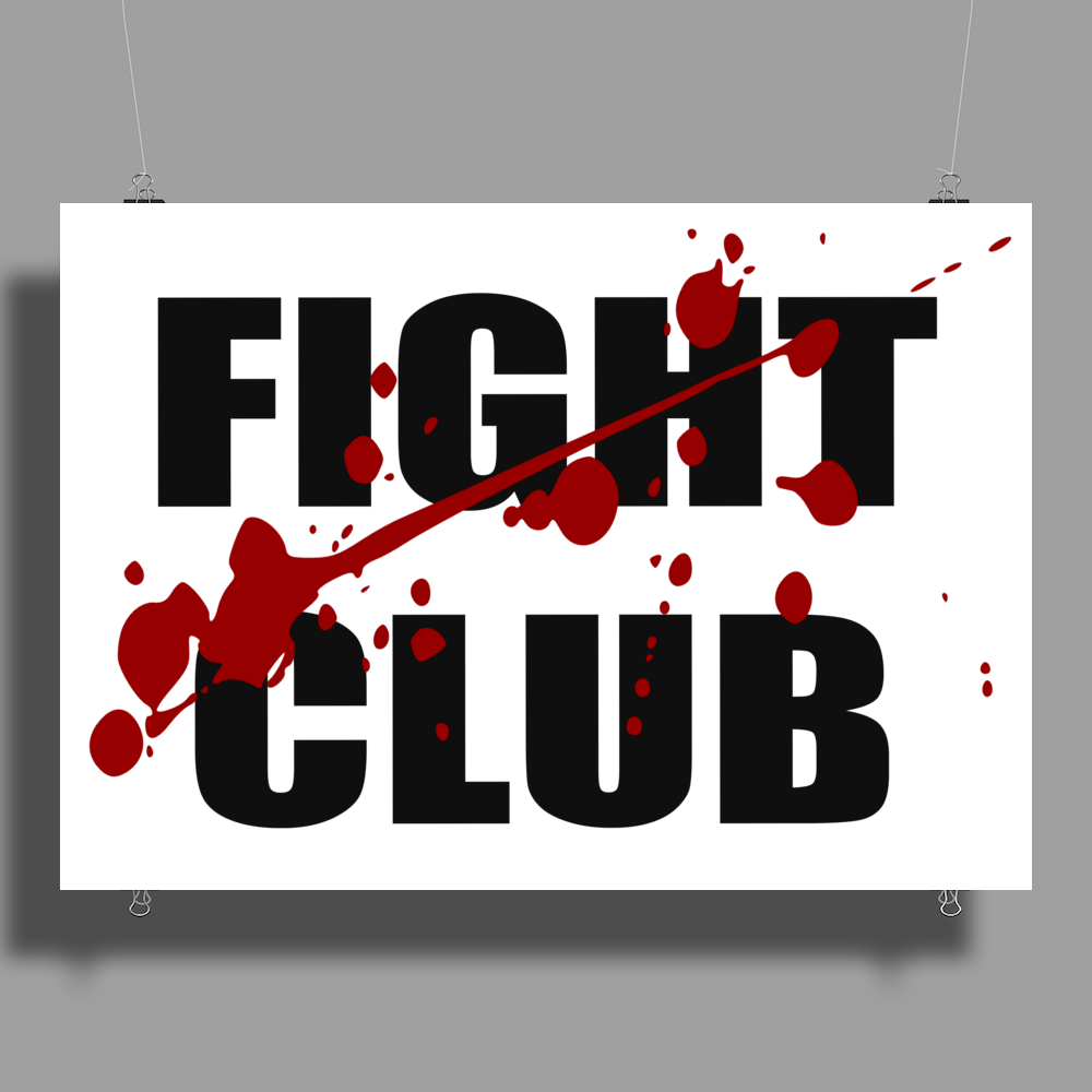 Fight Club Poster Print (Landscape)
