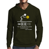 Fight Club Tyler Durden Brad Pitt Compost Heap Quote Mens Hoodie