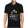 Fight Club Tyler Durden Brad Pitt Compost Heap Quote Mens Polo