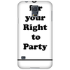 FIGHT FOR YOUR RIGHT || Männer Shirt Phone Case