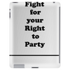 FIGHT FOR YOUR RIGHT || Männer Shirt Tablet (vertical)