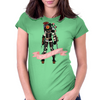 Fight Like a Big Sister Womens Fitted T-Shirt