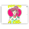 Fight Like A Bounty Girl Tablet