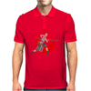 Fight like a girl Mens Polo