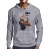 Fight Like a Girl (Words) Mens Hoodie