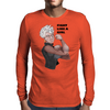 Fight Like a Girl (Words) Mens Long Sleeve T-Shirt