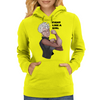 Fight Like a Girl (Words) Womens Hoodie