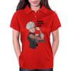 Fight Like a Girl (Words) Womens Polo