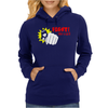 Fight like a gril Womens Hoodie