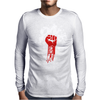 Fight Money Mens Long Sleeve T-Shirt