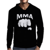 Fighting Mixed Martial Arts Fist Mens Hoodie
