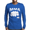 Fighting Mixed Martial Arts Fist Mens Long Sleeve T-Shirt