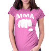 Fighting Mixed Martial Arts Fist Womens Fitted T-Shirt