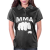 Fighting Mixed Martial Arts Fist Womens Polo