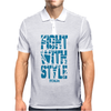 FIGHTWITHSTYLE Mens Polo