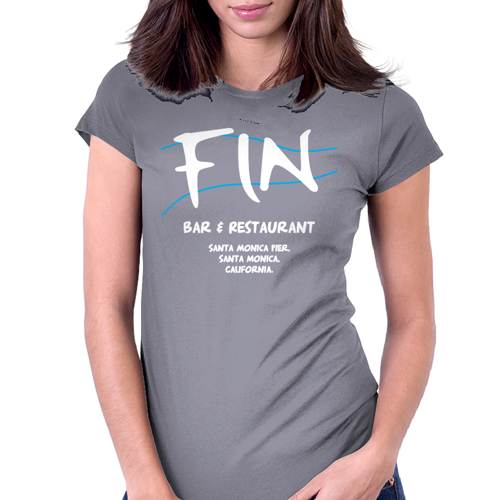 Fin Bar And Restaurant - Sharknado Womens Fitted T-Shirt