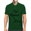 Find Happiness in Misery Mens Polo