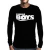 Finding Boys Mens Long Sleeve T-Shirt