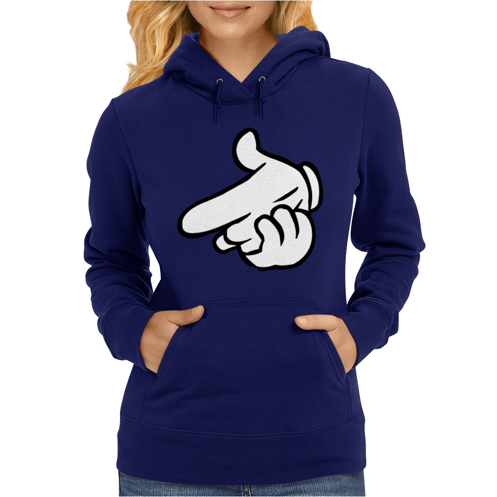 Finger Point Womens Hoodie