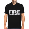 FIRE DEPARTMENT Mens Polo