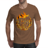 Fire dragon digital painting Mens T-Shirt