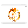 Fire dragon digital painting Tablet (horizontal)