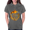 Fire dragon digital painting Womens Polo