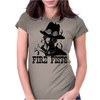 Fire Fists Ace Womens Fitted T-Shirt