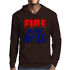 Fire in the Hole Mens Hoodie