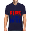 Fire in the Hole Mens Polo
