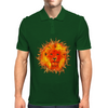 Fire Lion Mens Polo
