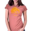 Fire Moonwalk Womens Fitted T-Shirt